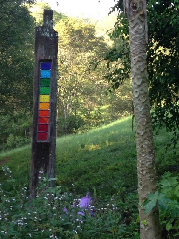 Rainbow Leadlight - Varying prices depending on timber and size
